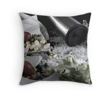 Spilled Salt Throw Pillow