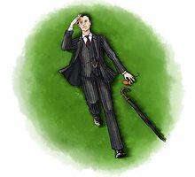 Mycroft Holmes by FrauKeks