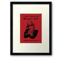 Bilbo Swaggins Framed Print