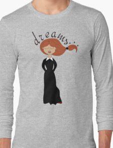 dreaming girl  Long Sleeve T-Shirt