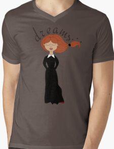 dreaming girl  Mens V-Neck T-Shirt