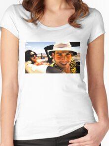 Fear and Loathing in Las Vegas - Art Women's Fitted Scoop T-Shirt