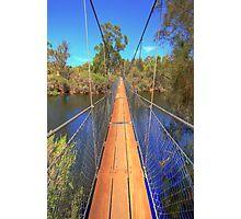 York Suspension Bridge Photographic Print