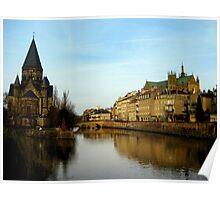 Metz, France Poster
