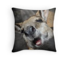 My first Wallaby Throw Pillow