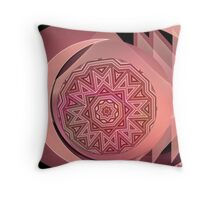 The girl likes maths Throw Pillow