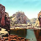 katherine gorge NT by richard clarke