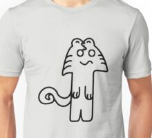 Mostly an American Cat Unisex T-Shirt