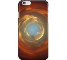 circular sunset iPhone Case/Skin