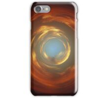 circular sunset iPhone Case/Skin