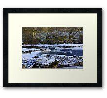 River Swale at Keld,North Yorkshire. Framed Print