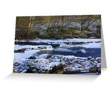 River Swale at Keld,North Yorkshire. Greeting Card