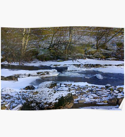 River Swale at Keld,North Yorkshire. Poster