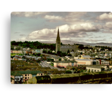 St Eugene's Cathedral Canvas Print