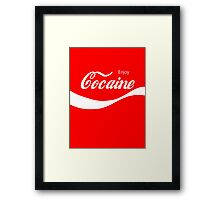 Enjoy Cocaine Framed Print
