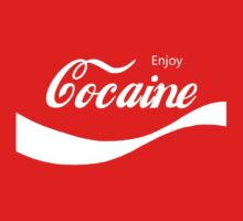 Enjoy Cocaine by ColaBoy