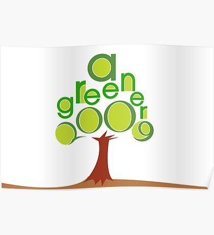 A GREENER 2009 Poster