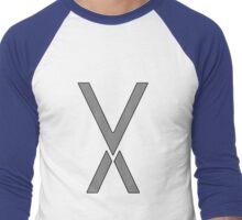 Vee Laser Men's Baseball ¾ T-Shirt
