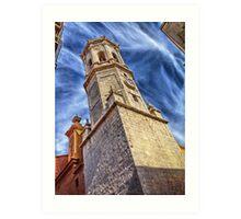 arciprestal vila-real san Jaime tower Art Print