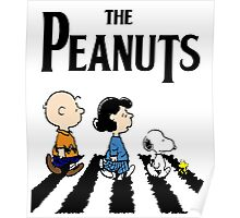 Peanuts Beatles Poster