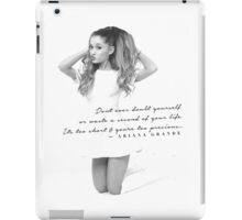Ariana Grande Quote #2 iPad Case/Skin