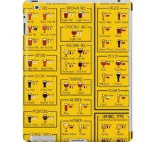 An illustrated guide to the world of Beer iPad Case/Skin