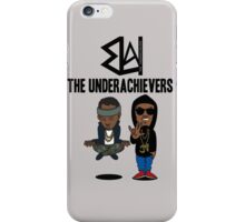 Issa Meditating and AK Spock  iPhone Case/Skin