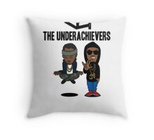 Issa Meditating and AK Spock  Throw Pillow