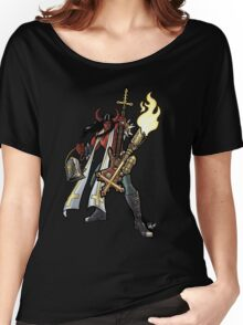 Flamethrower Guitar 002 Women's Relaxed Fit T-Shirt