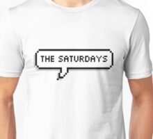 """The Saturdays"" Pixel Speechbubble Unisex T-Shirt"