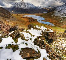 Llyn Idwal, Winter by Owen Burke