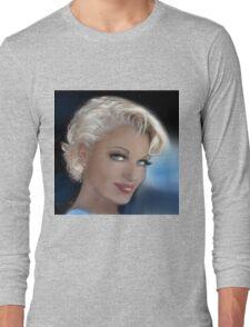 Blue Eyes Blond 2 Long Sleeve T-Shirt