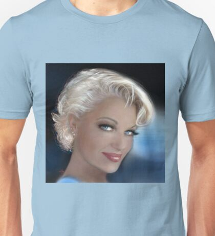 Blue Eyes Blond 2 Unisex T-Shirt