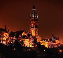 Glasgow University by Roddy Atkinson