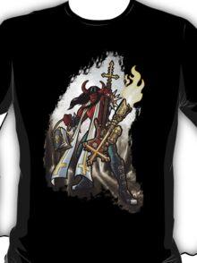 Flamethrower Guitar 002 V2 T-Shirt