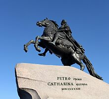 Equestrian statue of Peter the Great by mrivserg