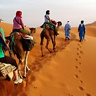 Trekking into the Sahara, Morocco by gumblossom