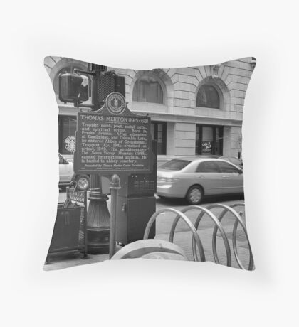 I Lost My Head Throw Pillow