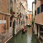 Venice canals 7 by Elena Skvortsova