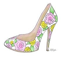 Rose Spring Daydream by pizzazzdesign