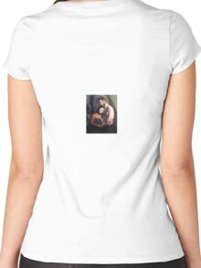 Artist Muse III Women's Fitted Scoop T-Shirt