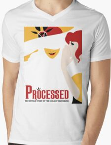 Processed - A Transistor & Wicked Mash Up Mens V-Neck T-Shirt