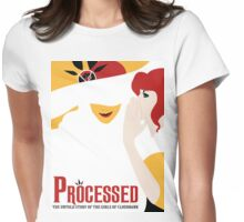 Processed - A Transistor & Wicked Mash Up Womens Fitted T-Shirt