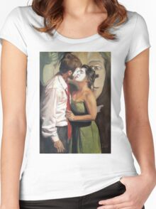 The Kiss Women's Fitted Scoop T-Shirt