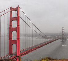 Golden Gate Bridge San Francisco by tarabottrill