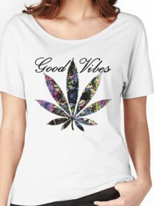 THE GOOD VIBES PLANT Women's Relaxed Fit T-Shirt
