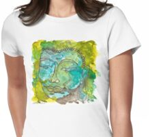 Maya Buddha Womens Fitted T-Shirt