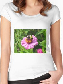 Bizzy Bumble Bee Women's Fitted Scoop T-Shirt