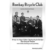 bombay bicycle club (poster) Poster