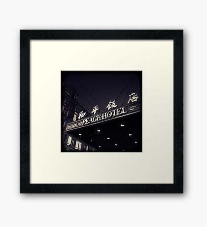 OLD SHANGHAI - Peace Hotel Framed Print